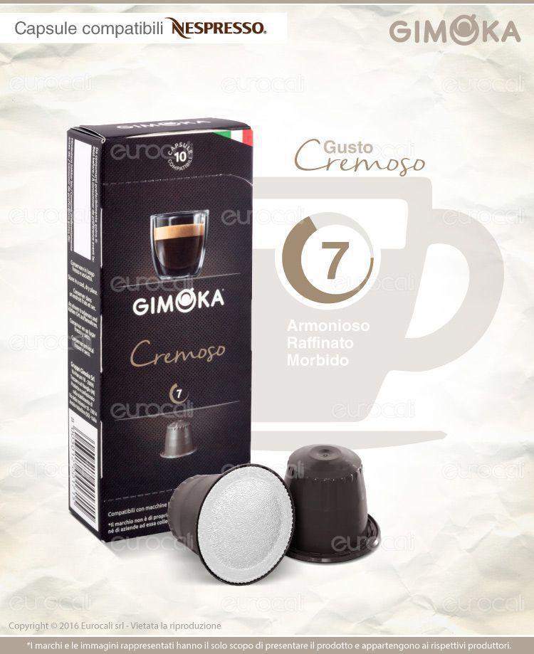 Capsule Caffè Gimoka Nespresso