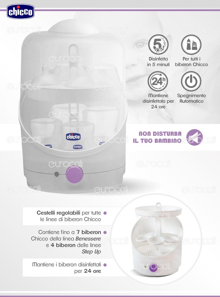 Sterilizzatore Chicco SterilNatural