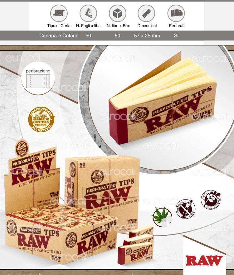 Filtri in Carta Raw Tips