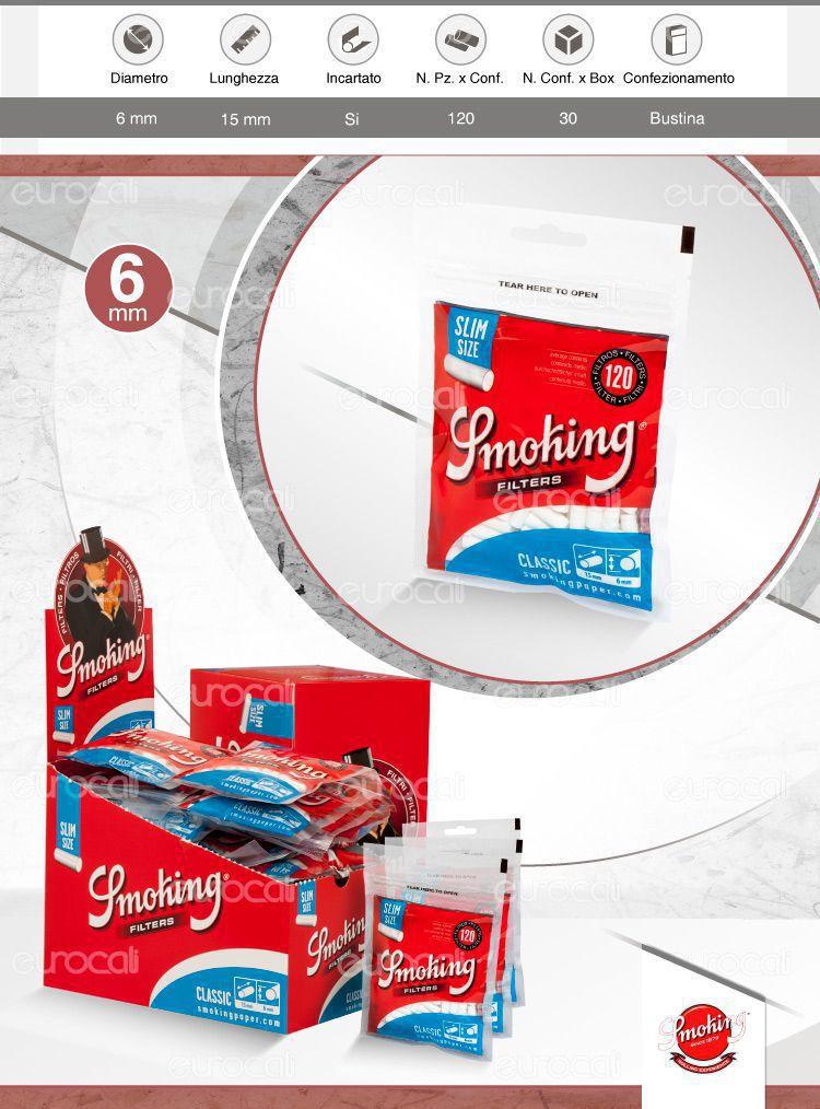 Smoking Filtri Classic Slim