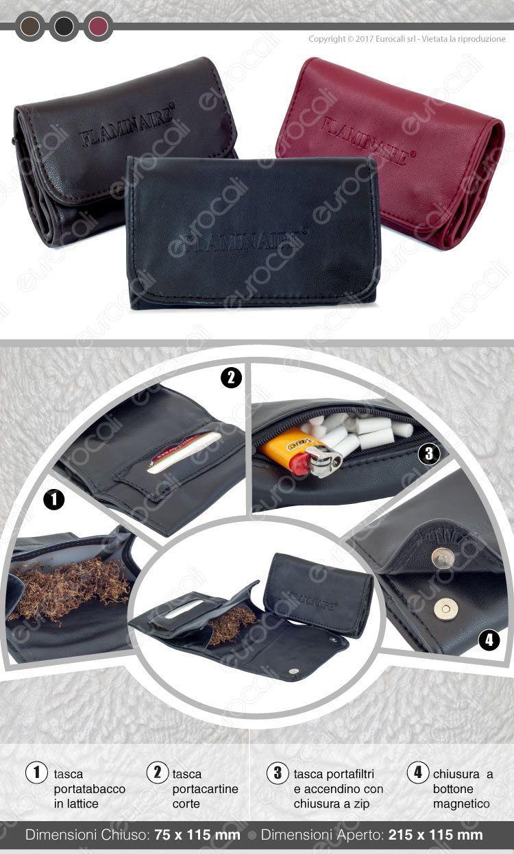 Portabacco Ecopelle