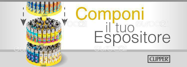 espositore componibile clipper