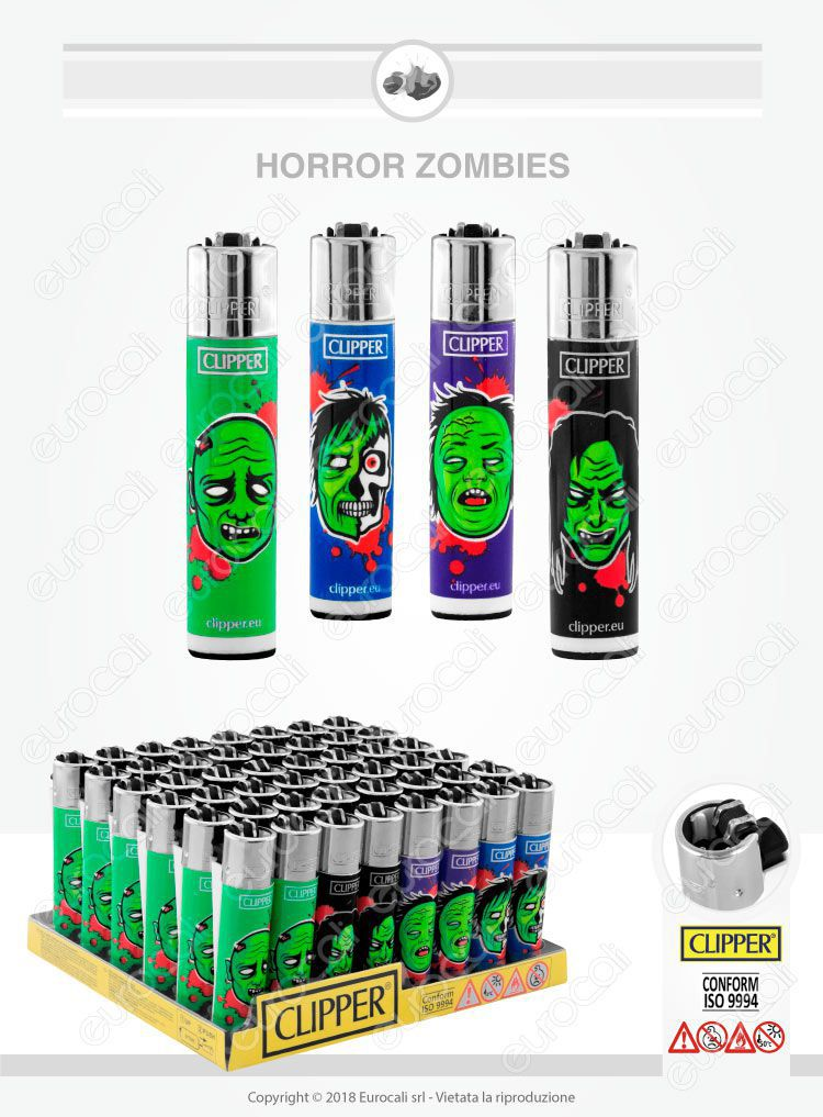 Clipper Large Fantasia Horror Zombies