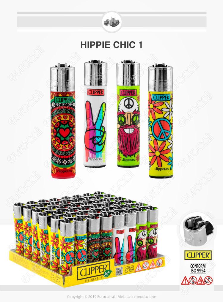 Clipper Large Fantasia Hippie Chic 1 - 4 Accendini