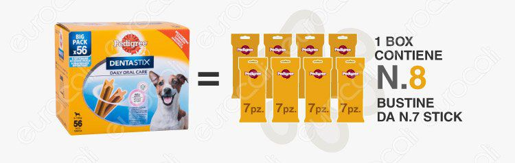 banner pedigree dentastix 8 bustine