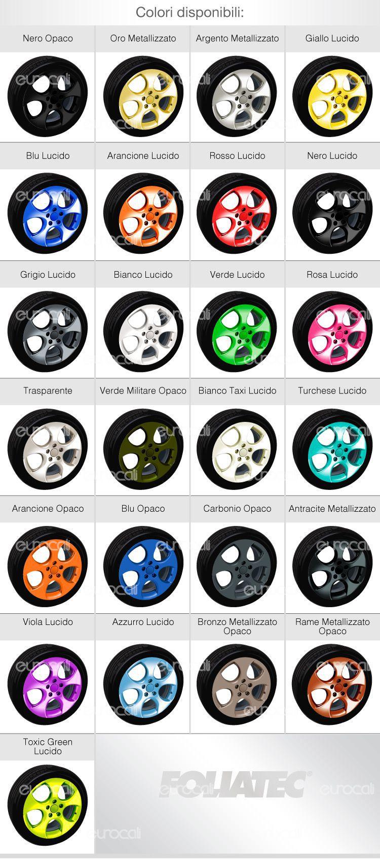 colori cerchioni foliatecl