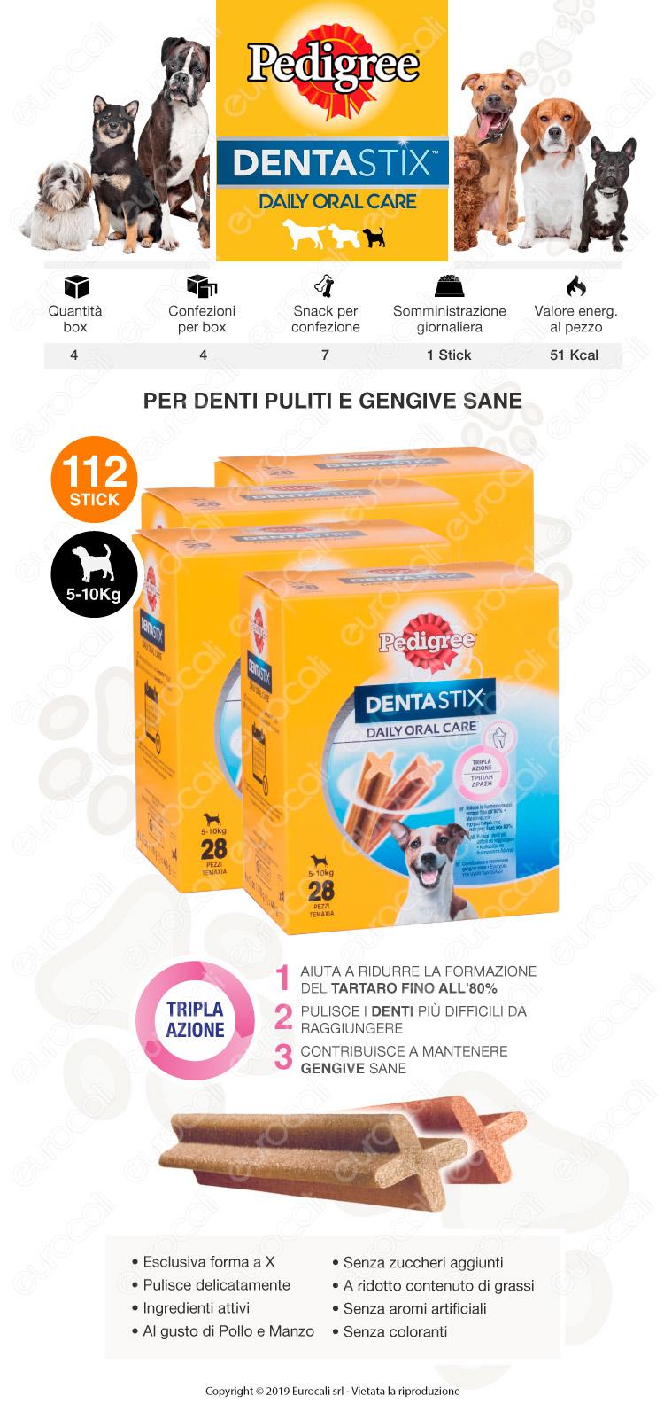 pedigree dentastix medium 112 sticks