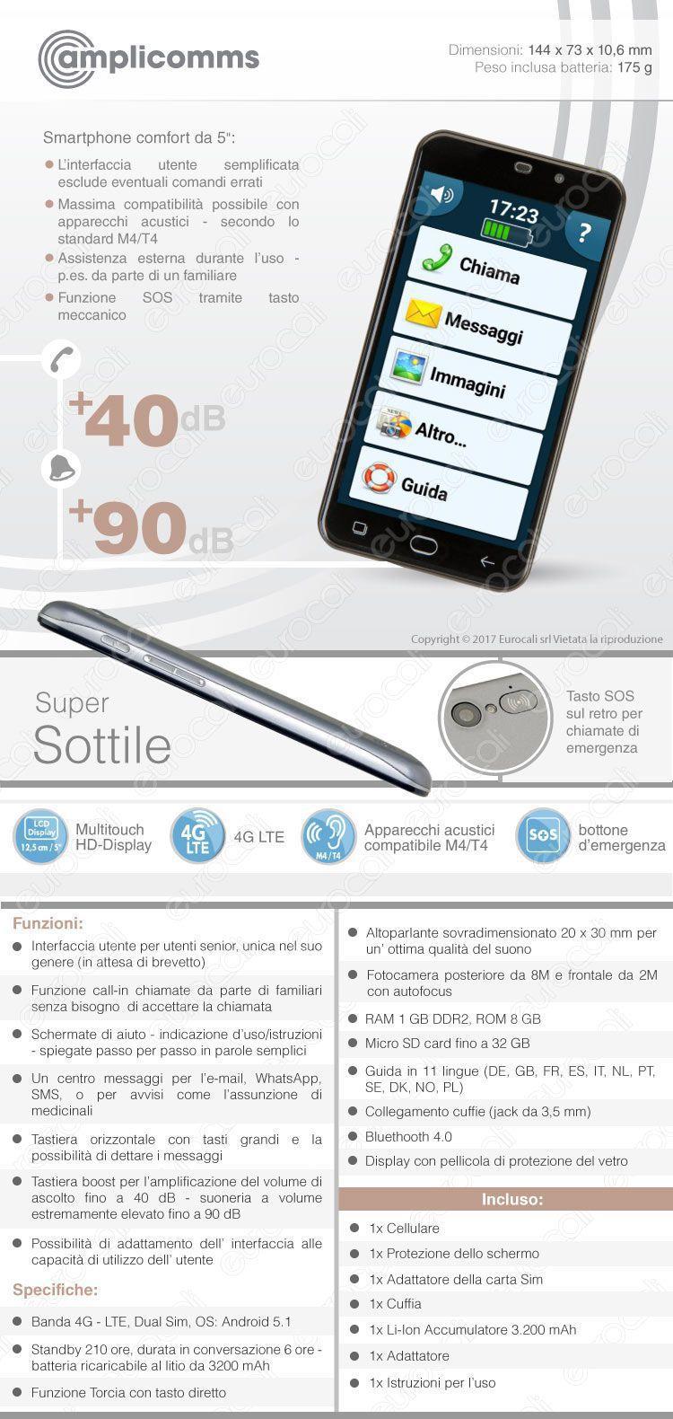 Amplicomms Smartphone M9500