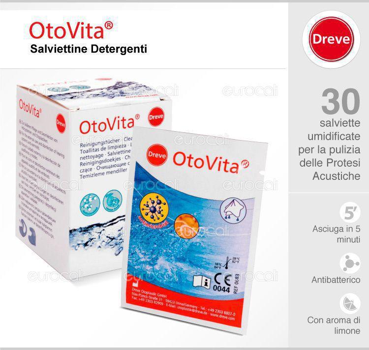 Otovita cleaning tissues salviette umidificate