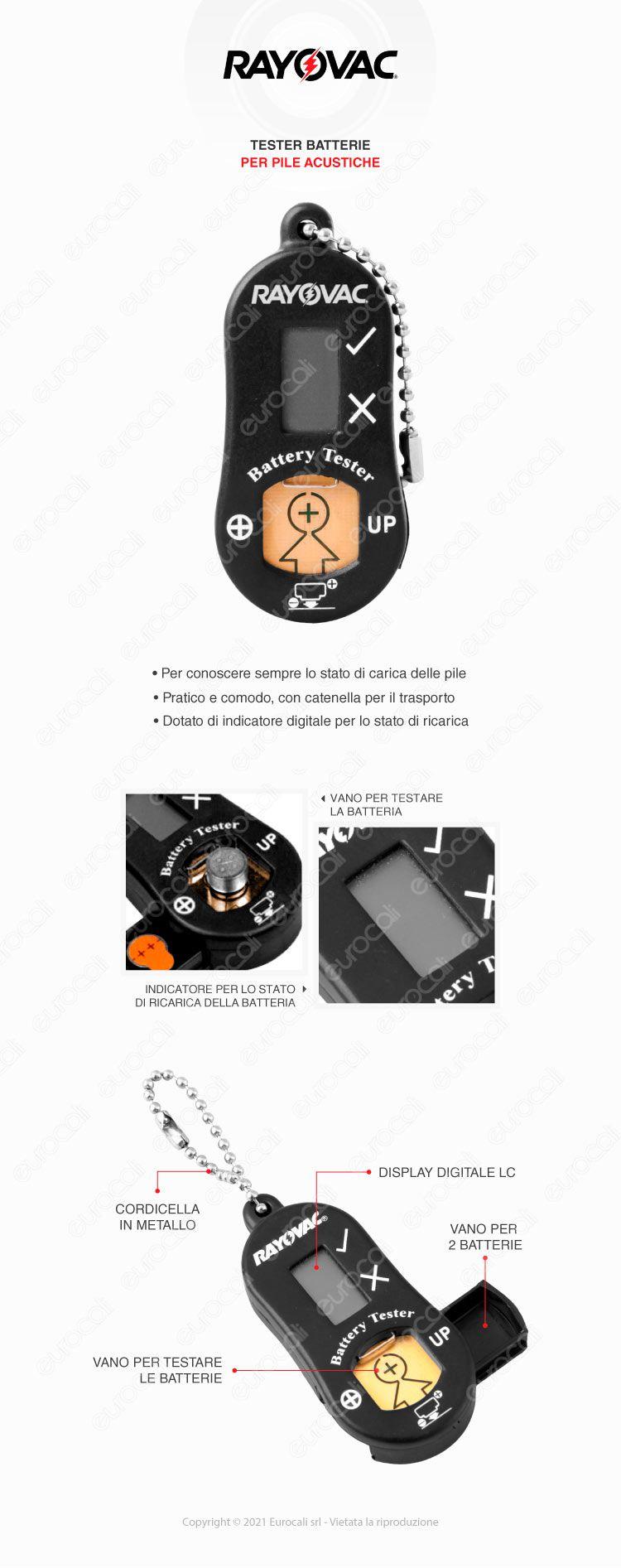 rayovac battery tester