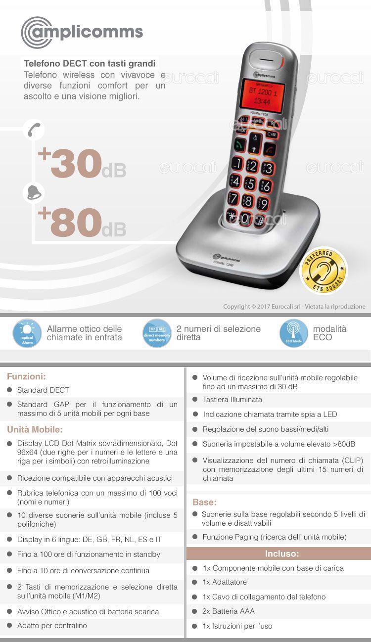 Amplicomms BT 1200