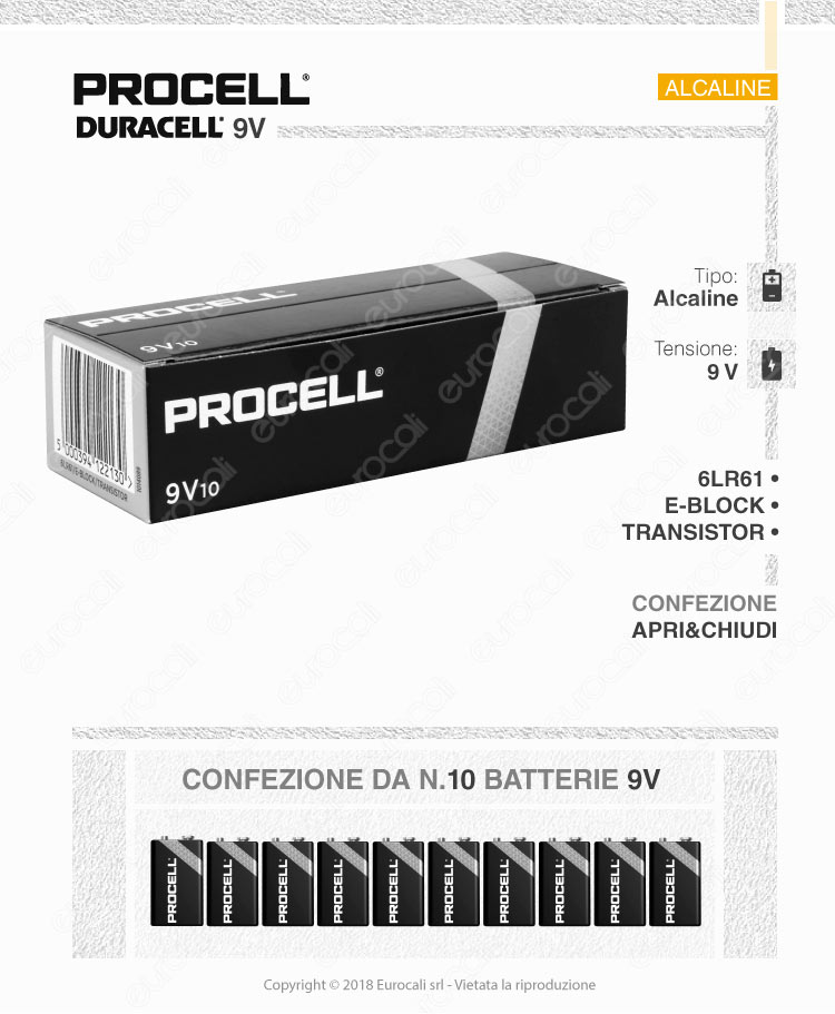 industrial duracell procell