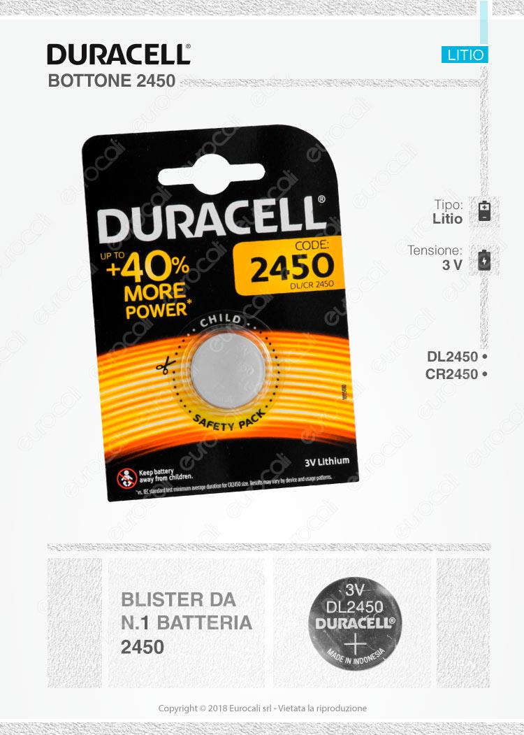 batterie Duracell 2450