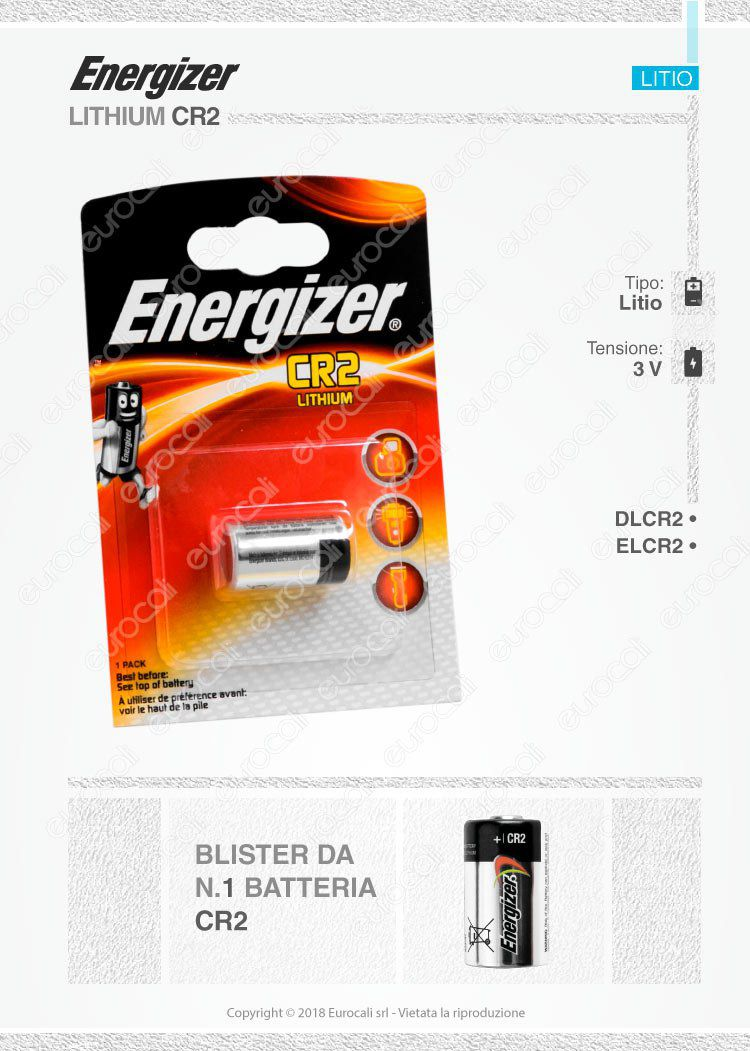 energizer litio