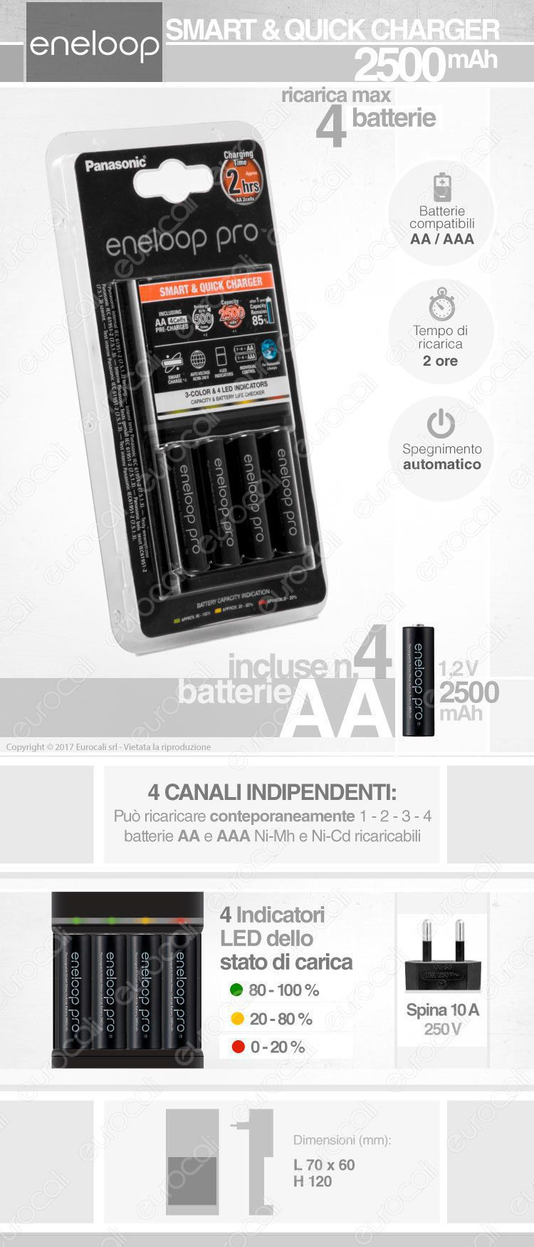movida caricabatterie fast charger