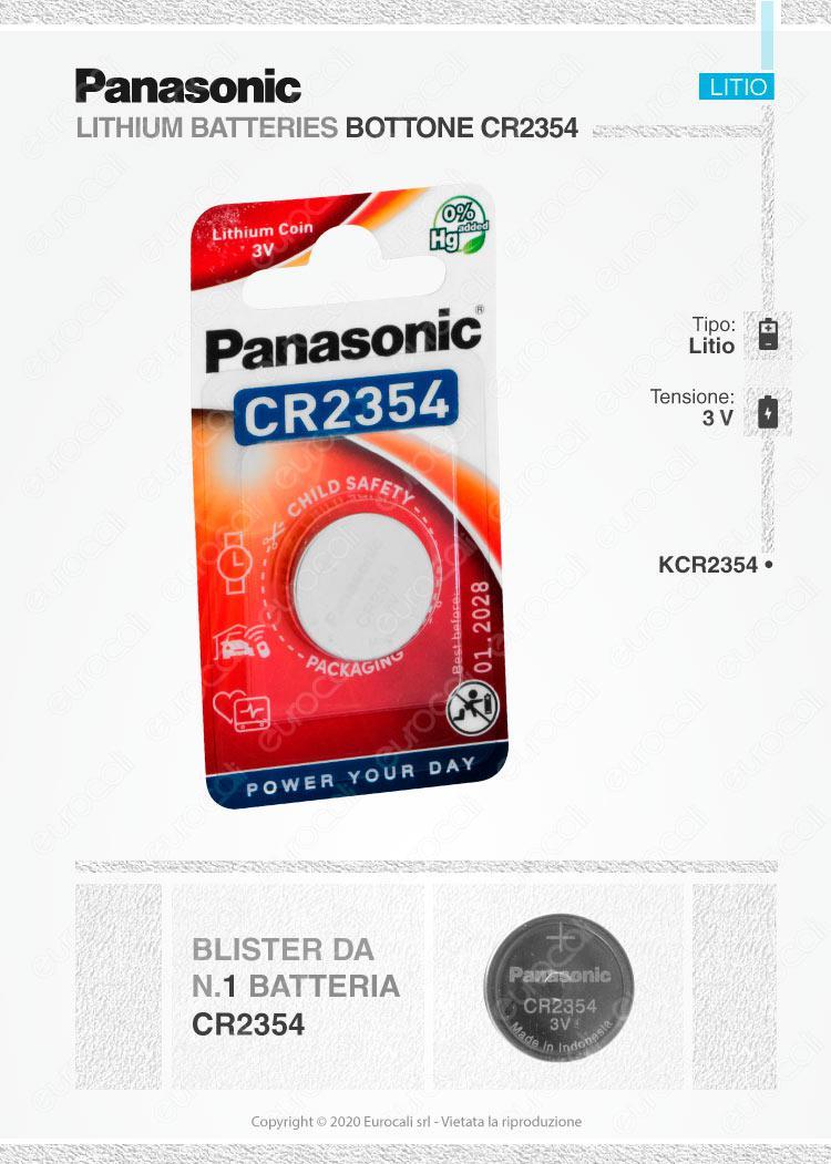 batterie Panasonic CR2354