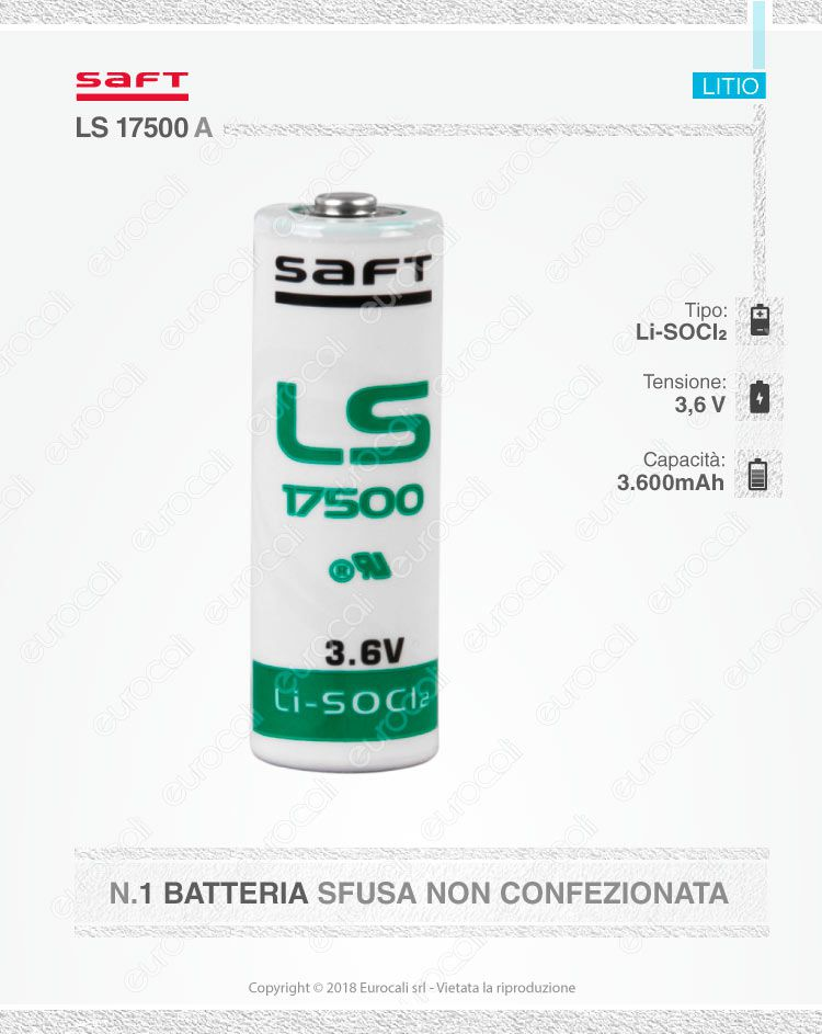 saft litio