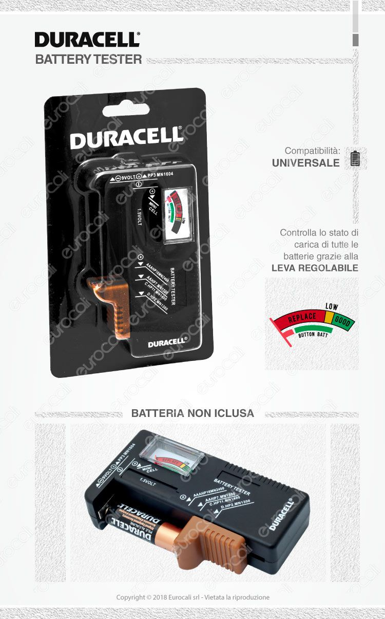 duracell tester