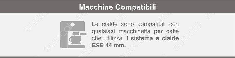 macchine compatibili cialde