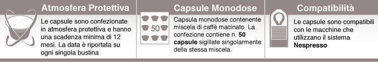 descrizione borbone capsule caffè