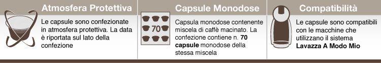 descrizione gimoka capsule caffè