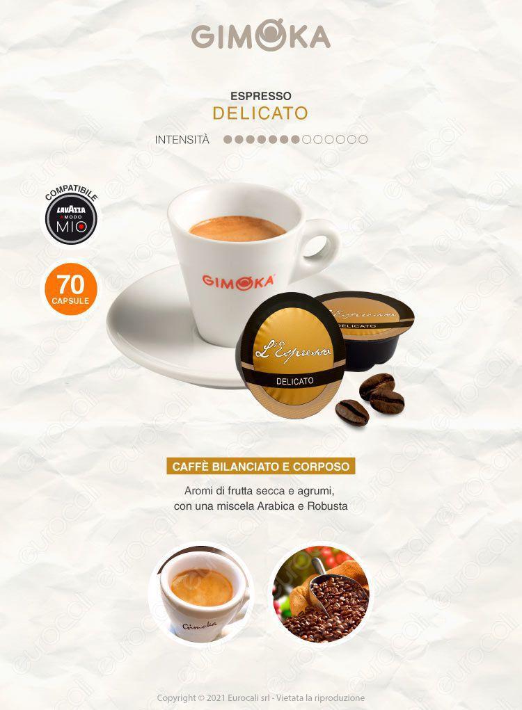 Capsule Caffè Gimoka Lavazza Modo Mio