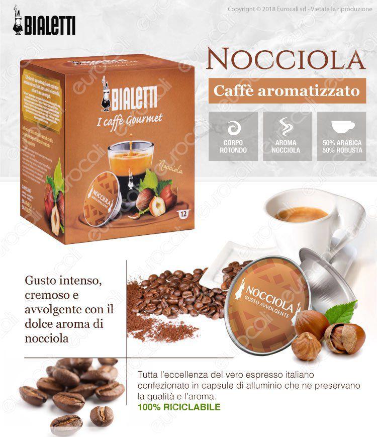 Caffe gourmet Bialetti Nocciola