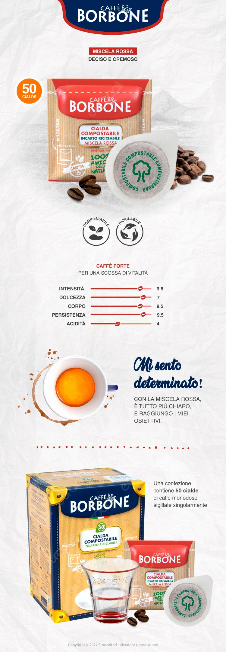 Cialde Caffè Borbone