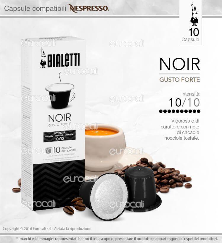 Capsule bialetti caffè compatibile nespresso