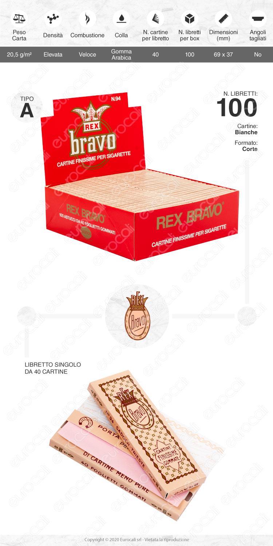 Cartine Bravo Corte finissime