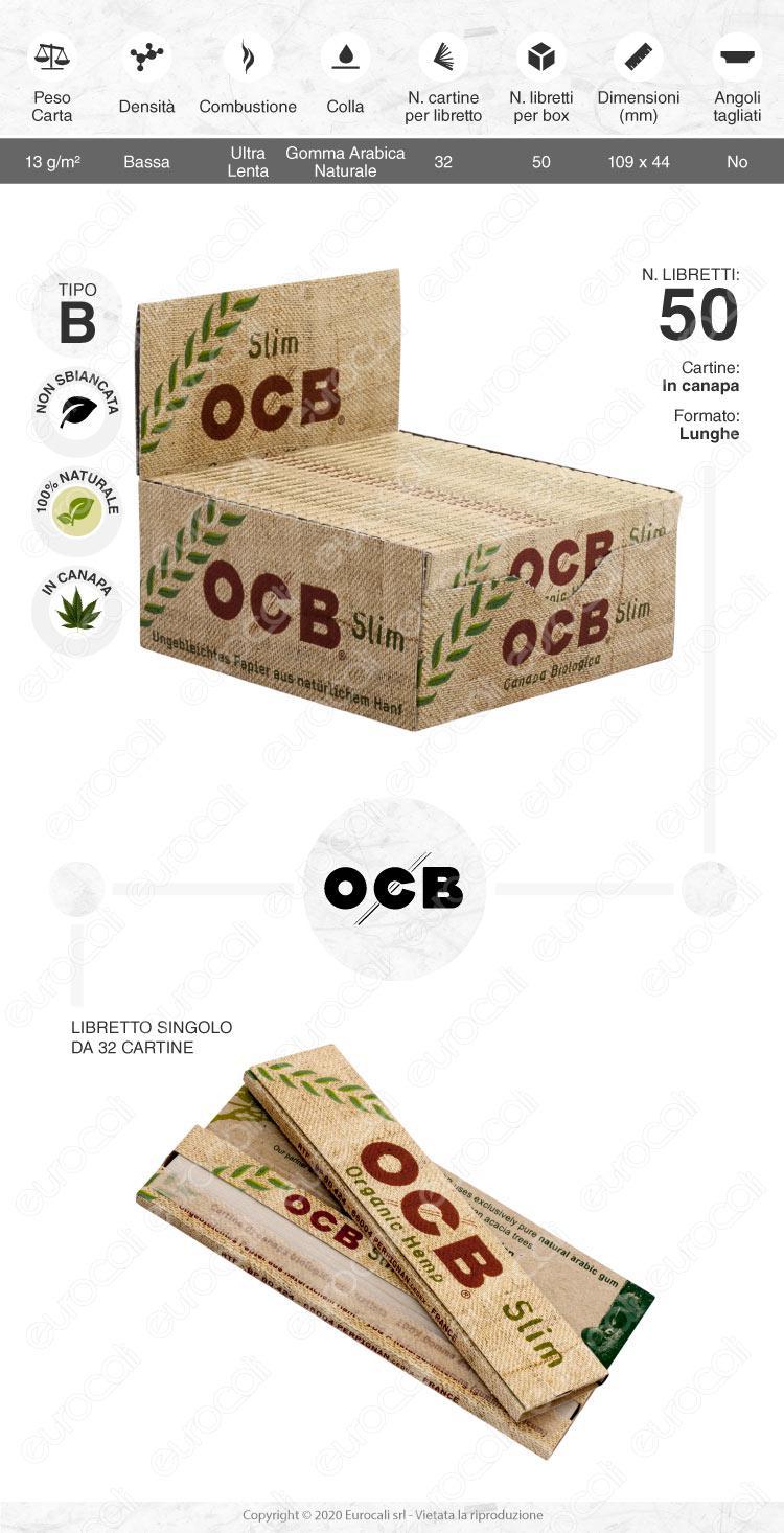 Cartine OCB Hemp King size