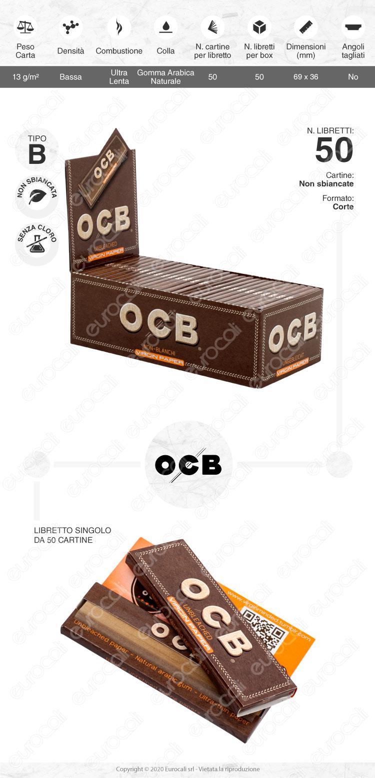 Cartine OCB Virgin Corte