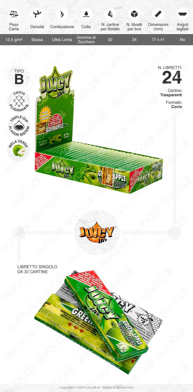 Cartine Juicy Jay's Mela Verde