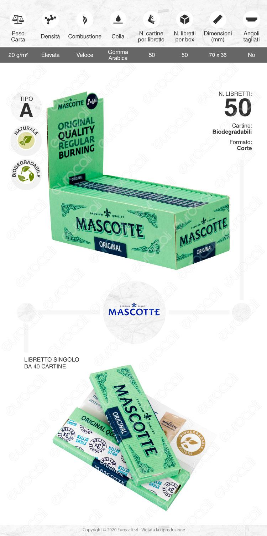 Cartine Mascotte Gommè Corte