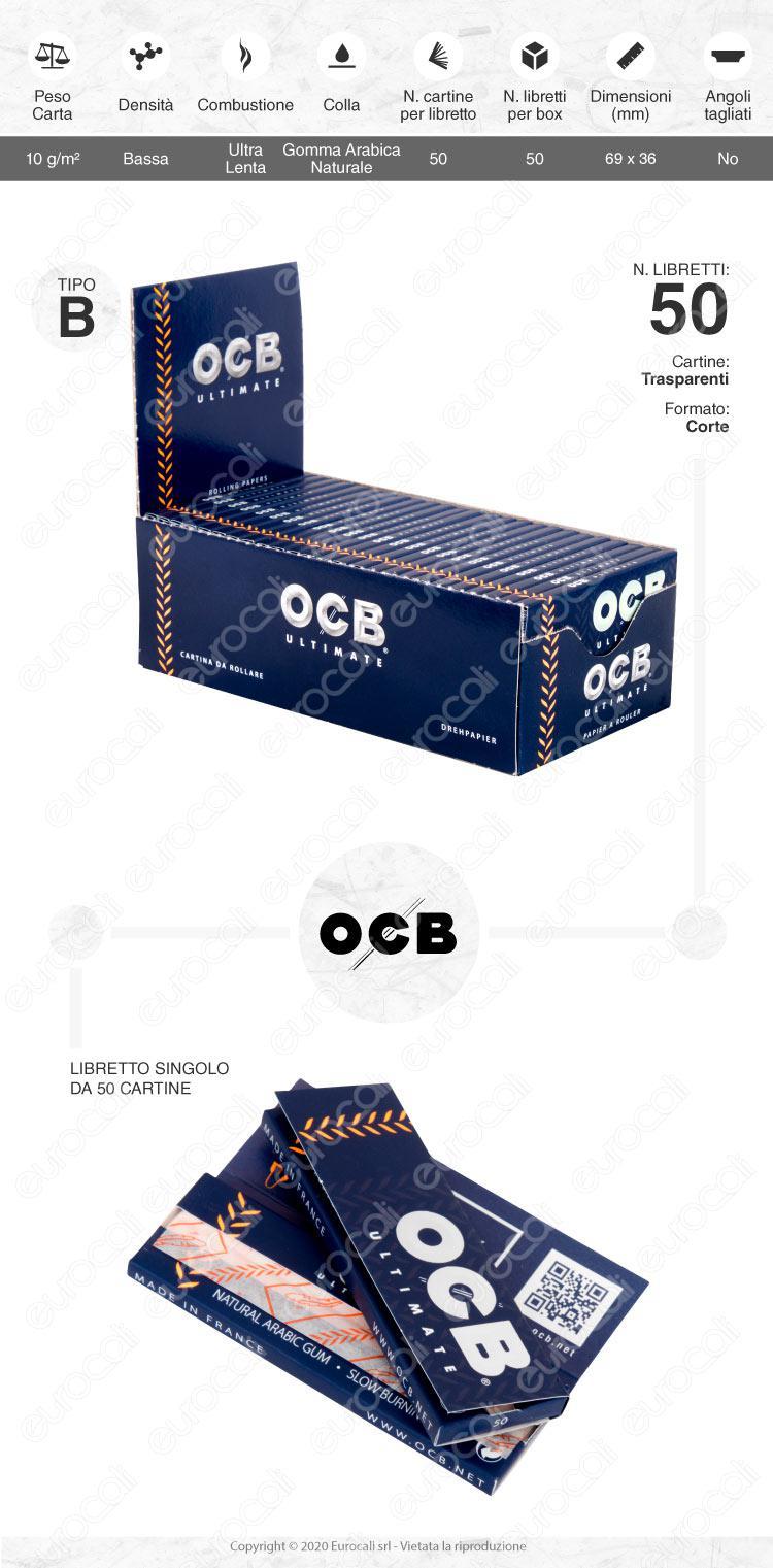 Cartine OCB Ultimate