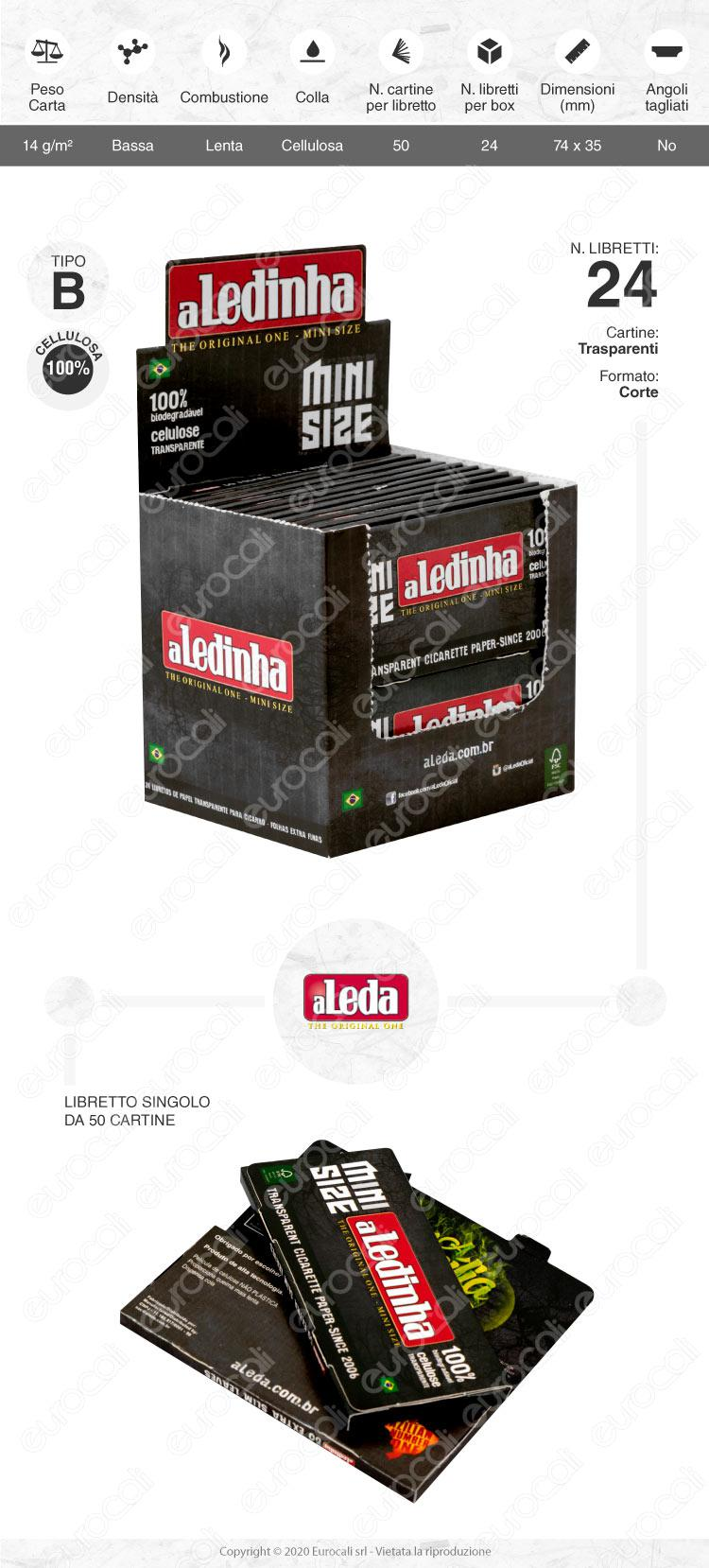 Cartine aLedinha mini size