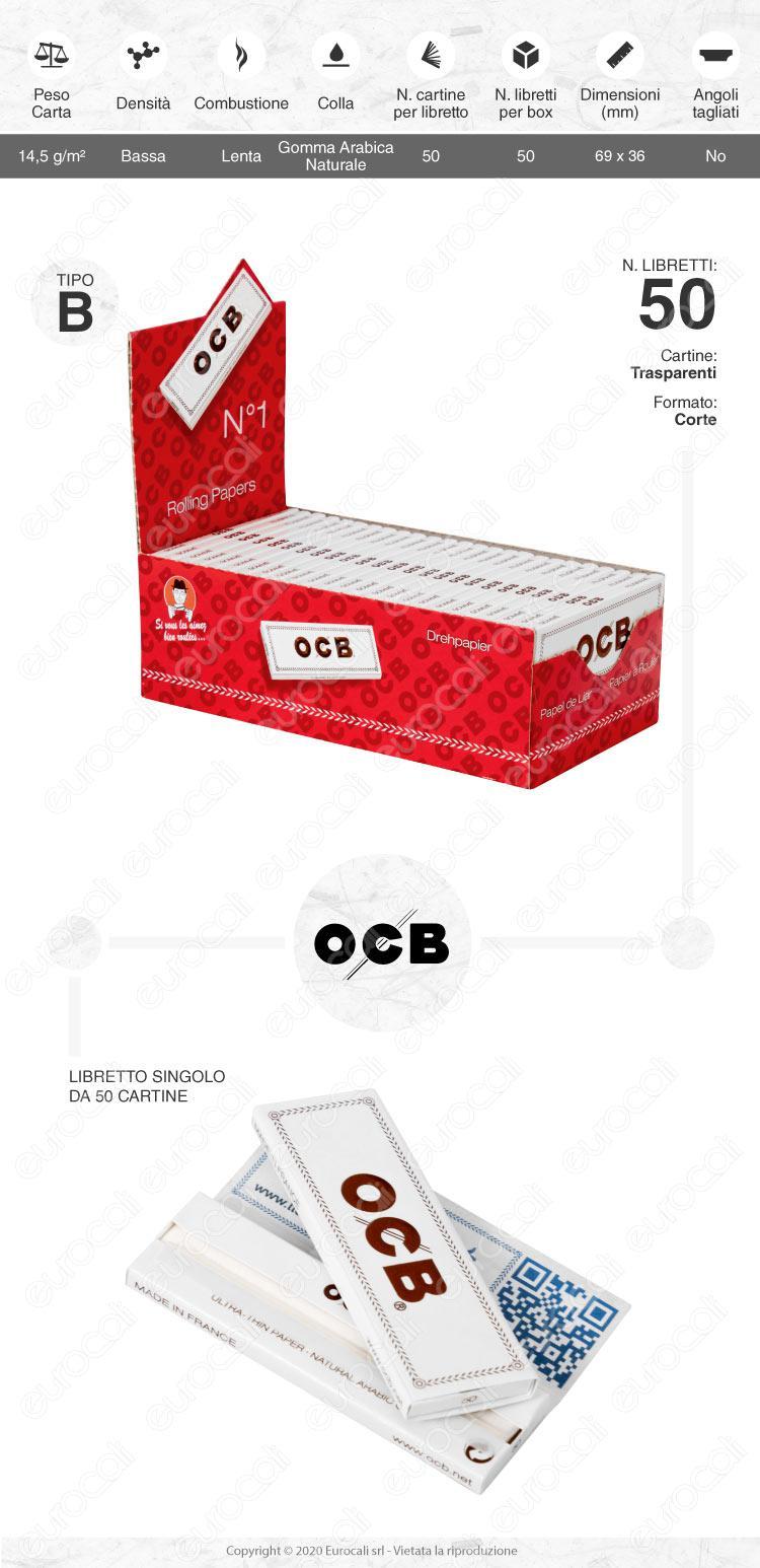 Cartine OCB Bianche