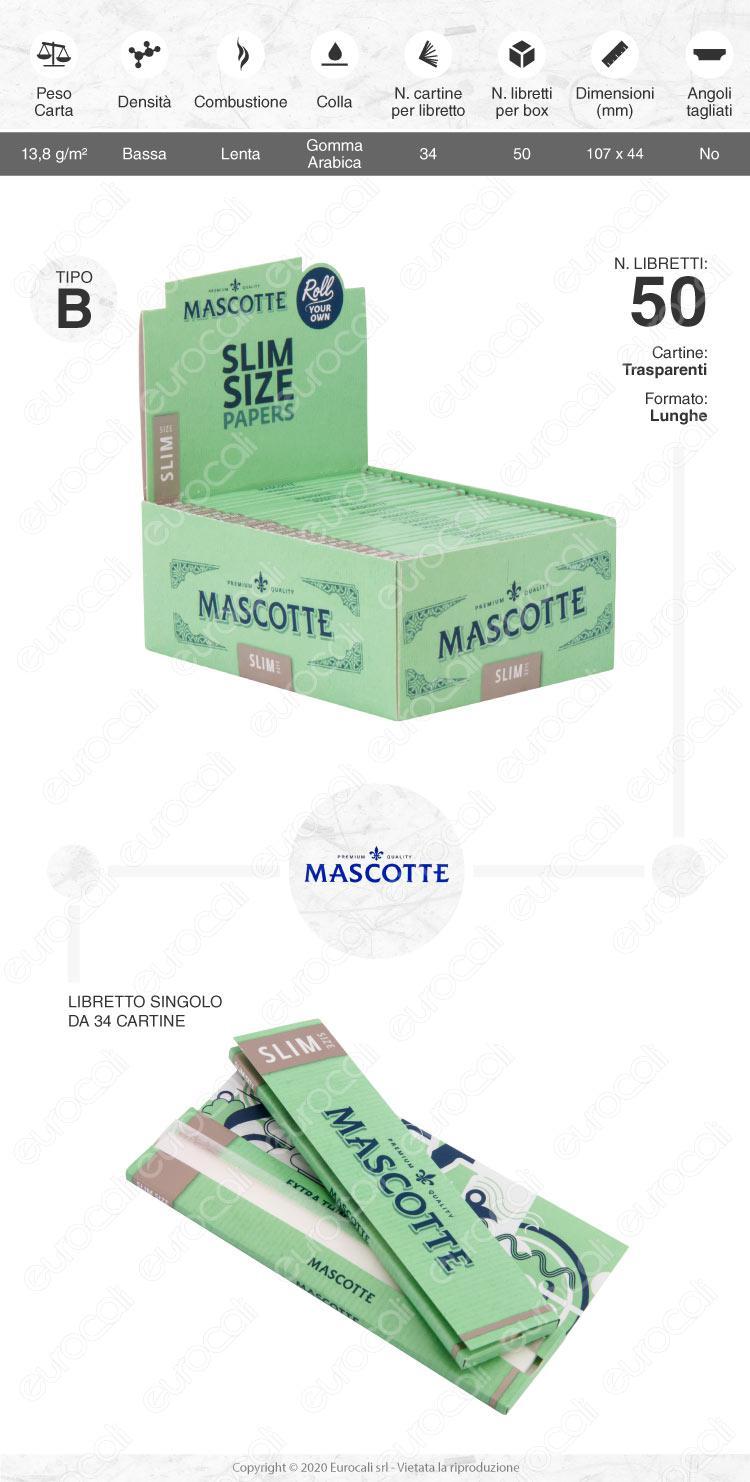 Cartine Mascotte king size