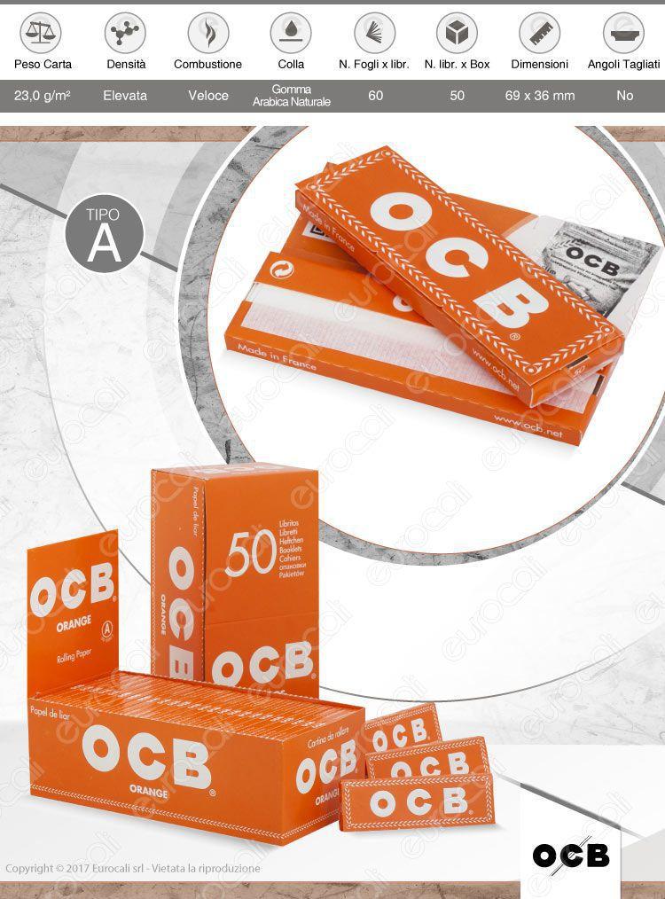 Cartine OCB Orange