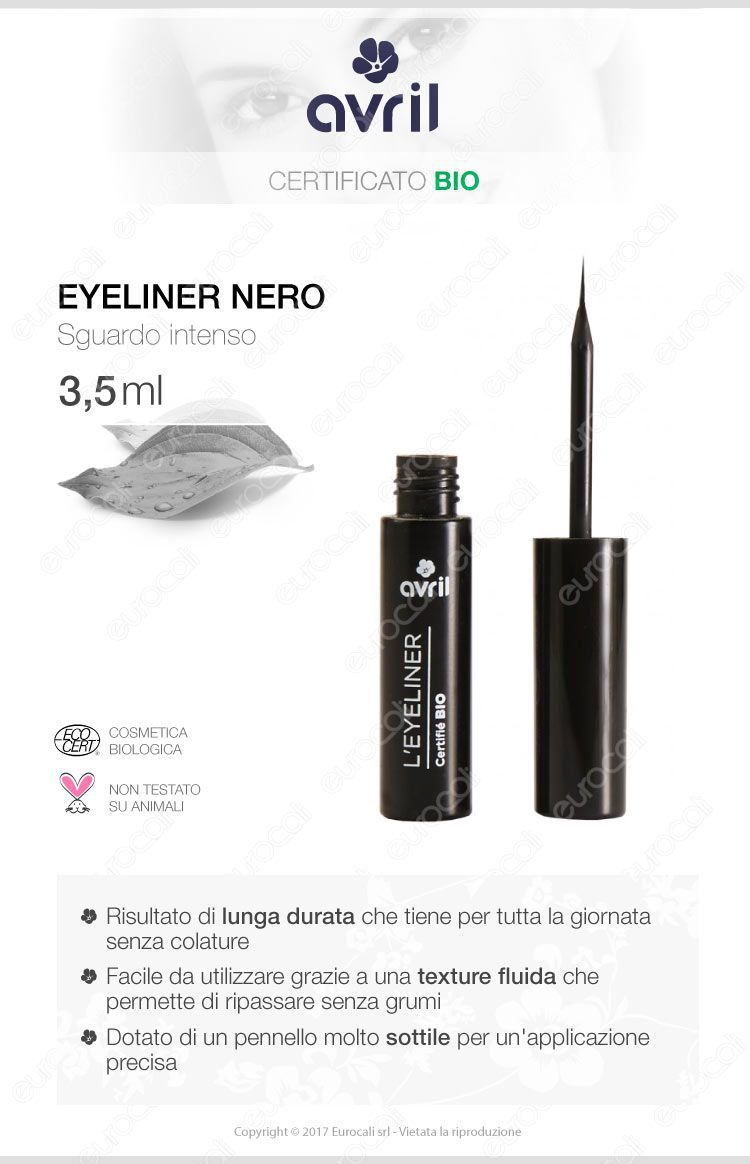 Avril Eyeliner bio colore nero
