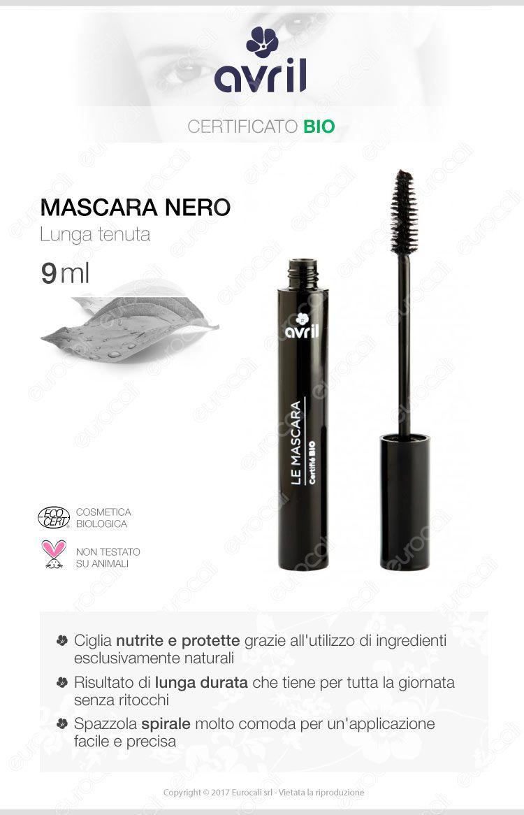 Avril Mascara bio colore nero