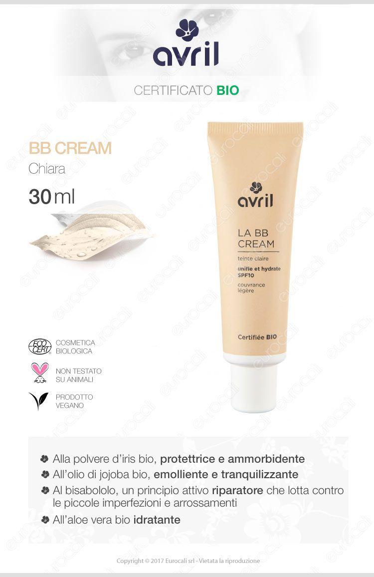 Avril bb cream chiara idratante e antiossidante