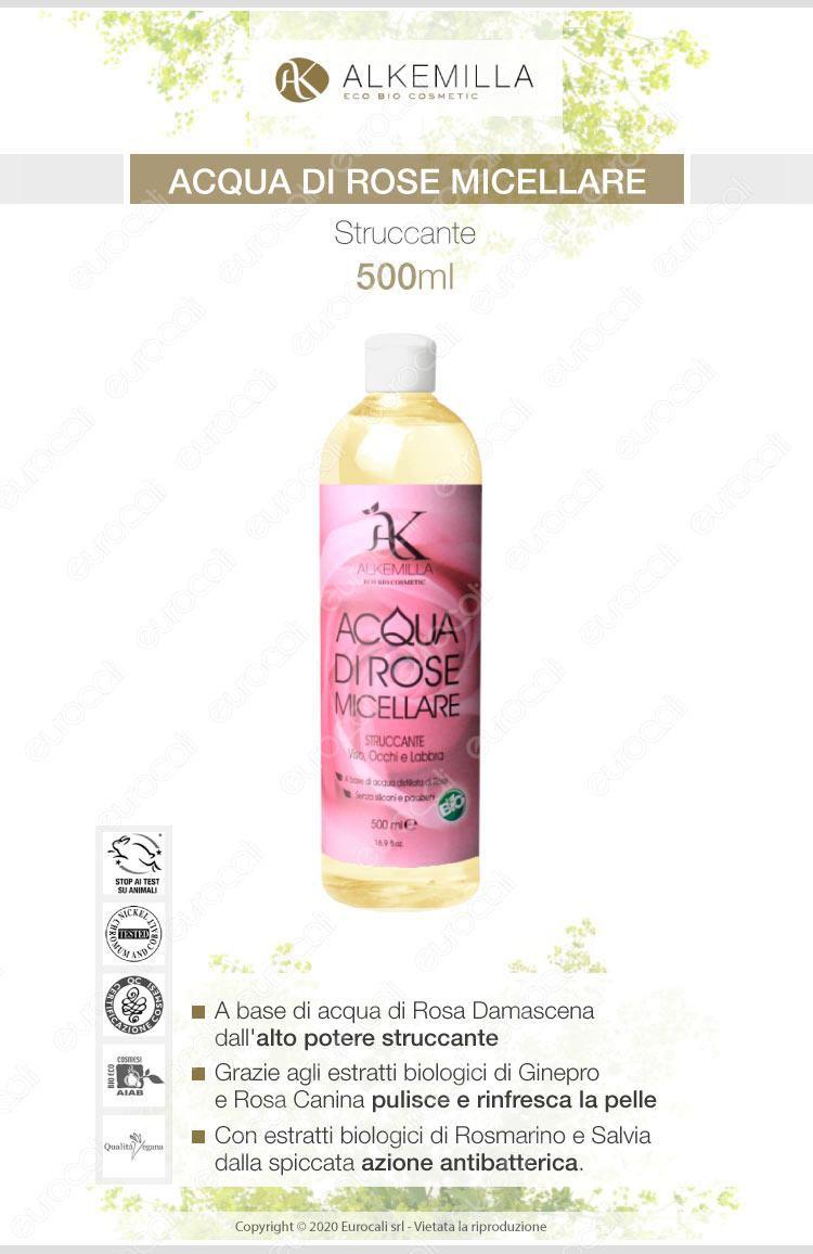 Alkemilla acqua di rose micellare