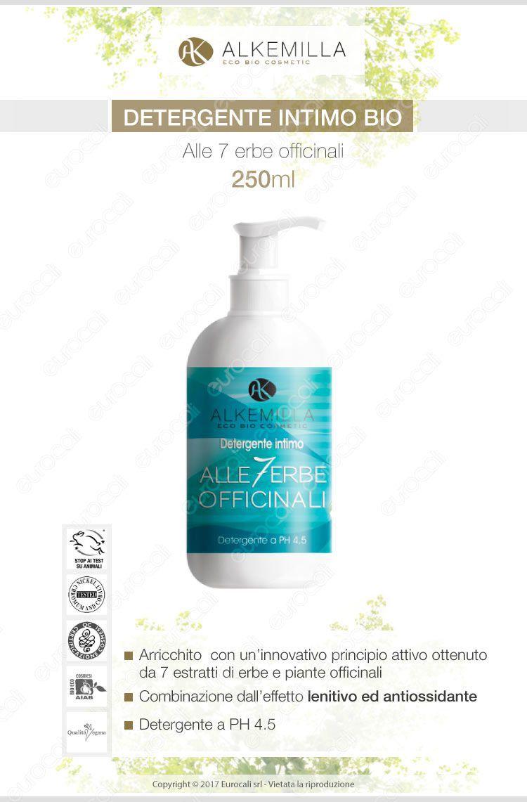 Alkemilla detergente intimo alle 7 erbe officinali