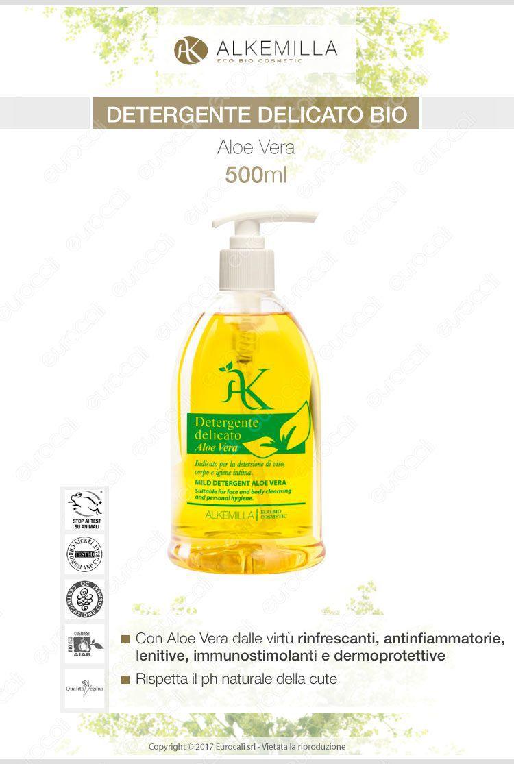 Alkemilla detergente delicato all'aloe verai
