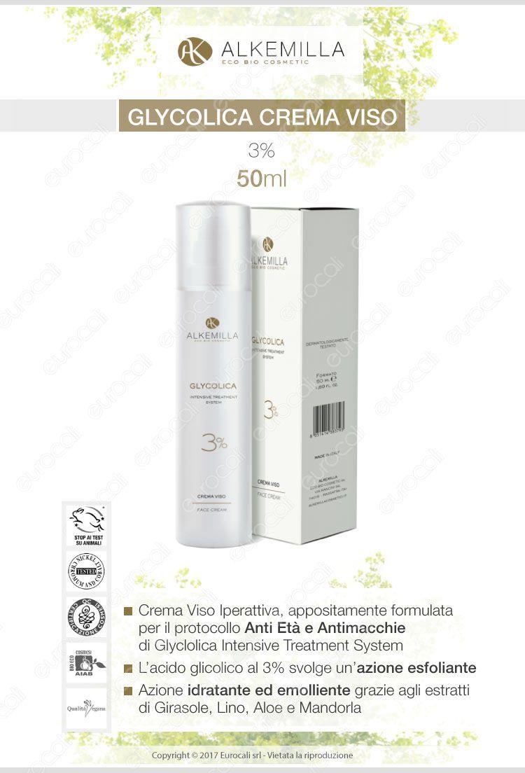 Alkemilla crema viso 3% antiage