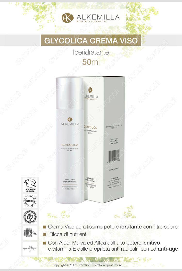 Alkemilla crema viso iperidratante antiage