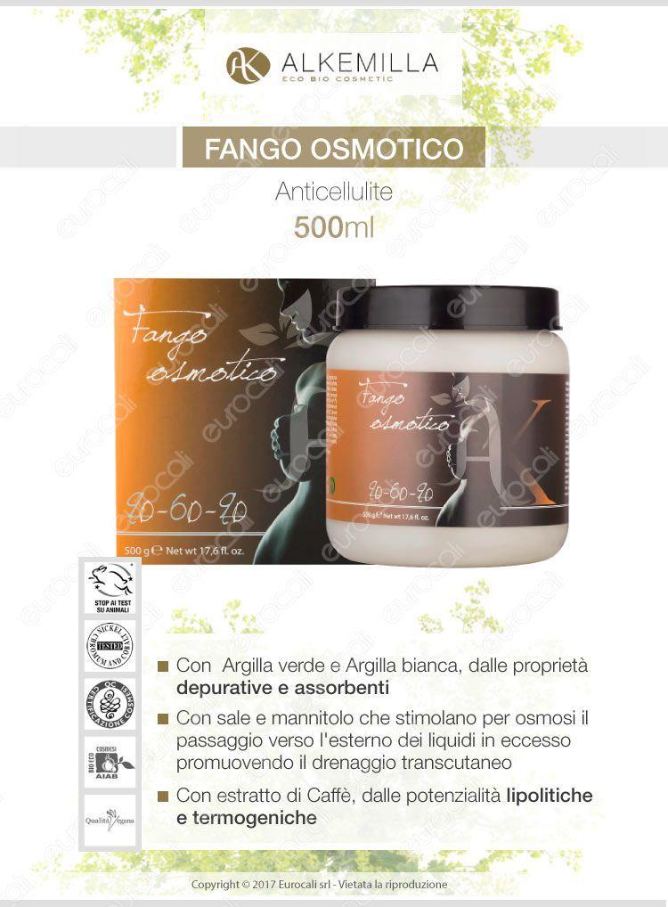 Alkemilla fango osmotico anticellulite 500ml