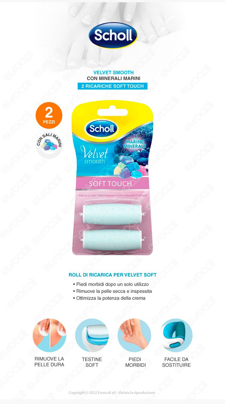 Ricarica Scholl Velvet Cristalli di Diamante Mix Pack