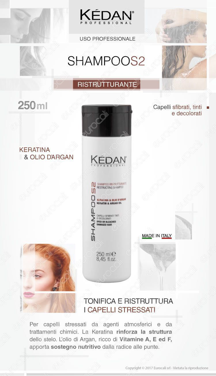 Kédan shampoo ristrutturante